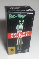 Loot Crate July 2017 Rick & Morty Rick Peace Among The Worlds Gold Figure