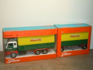 Volvo F89 Truck & Trailer Autotransit - Tekno 425 452 Holland 1:50 in Box *36982