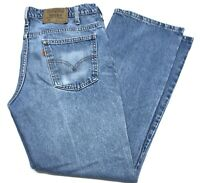 Mens Levis 517 Orange Tab Blue Jeans Denim Made In USA Size 36-29(35-29Actual)