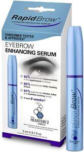 💙RapidBrow Eye Brow Enhancing Serum 3ml UK SELLER💙