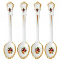 Royal Albert Old Country Roses Spoon SET OF 4 New # 40014089