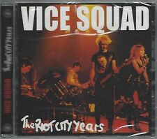 VICE SQUAD - THE RIOT CITY YEARS - (still sealed cd) - WW0061CD