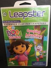 LeapFrog Leapster Learning Game Dora The Explorer Camping Adventure