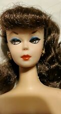 Vintage BARBIE 1958-1993 Brunette reproduction Doll Mattel Malaysia