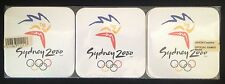 Sydney 2000 Olympic Set of 6 Coasters by Jason - Official Games Unopened package
