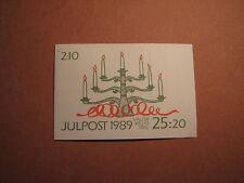 Sweden Booklet Scott# 1771A Christmas 1989 Mint L2