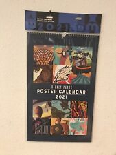 Disney Parks 2021 Attraction Poster Calendar Star Wars/Haunted Mansion/12 Month