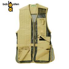 Shooting Clay Target Shooting Vest Bob Allen Quality Khaki  XL Vest