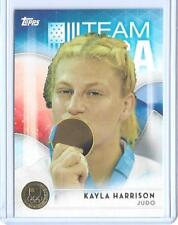 2016 TOPPS OLYMPIC KAYLA HARRISON GOLD PARALLEL CARD #9 UFC ~ JUDO ~ MMA ~ QNTY
