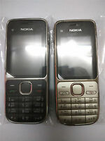 New Condition Original Nokia C2-01 3G Unlocked Hebrew Keyboard Mobile Bar Phone