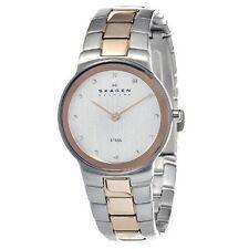 ** nuevo ** Skagen Señoras Reloj de tono Rosa Dorado fregona 2 C 430 ssrz - - RRP £ 159