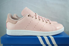adidas Originals: Women's Stan Smith (Sz. 6.5) Pink / White BA7498