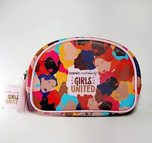 ESSENCE X ULTA BEAUTY COLLECTION GIRLS UNITED COSMETIC BAG, Limited Edition