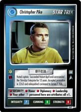 Star Trek CCG All Good Things Christopher Pike 18P