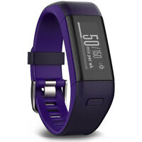 Garmin Vivosmart HR+ Activity Tracker Regular Fit, Imperial Purple