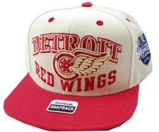 huge discount 088cf 023bb Detroit Red Wings Reebok NP41Z NHL Winter Classic Snapback Hockey Cap Hat