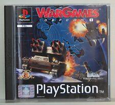 WARGAMES DEFCON 1 - PLAYSTATION 1 - PAL ESPAÑA - COMPLETO