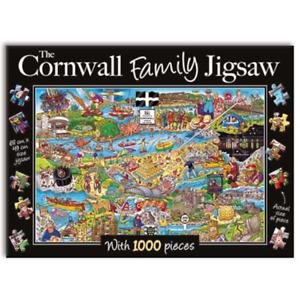 The Cornwall Family Jigsaw 1000 piece Jigsaw, Gifted Stationery