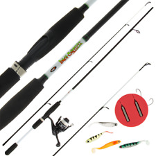 NGT Drop Shot  Fishing Rod ,  Reel & line with Drop shotting Kit