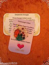 Schutzengel Energie Ketten-Anhänger Erzengel Raphael mit Energiekarte