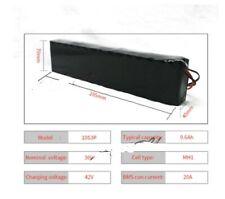 batteria litio 36v 9.6 ampere BMS 20A per bici elettrica 10s3p