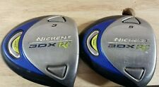 NICKENT 3DX RC 3 & 5 FAIRWAY WOOD REGULAR FLEX SR 2.5 Shaft 65G Golf Clubs