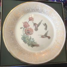 Lenox Rufous Hummingbird Plate Boehm
