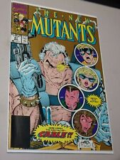 The New Mutants #87 2nd Print Gold Cover!! 1st Appearance Cable!! Beautiful NM+