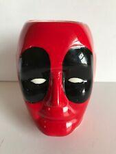 Marvel Deadpool 3D Ceramic Mug Red Black