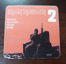 Iron Maiden-World Slavery-Tour 1984/85 - VIP PASS