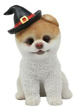 Halloween Boo The World's Cutest Pomeranian Dog Statue Pet Pal Dogs Collectible