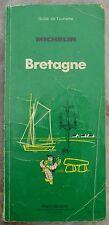 Guide Vert Michelin Bretagne, 29e édition, 1981, bon état, couverture usée