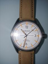 Corgeut 41mm Miyota White Dial Orange Marks Sapphire Glass Mens Automatic Watch