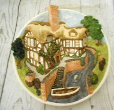 On the Riverbank Wall Hanging David Winter Cottages Collectors Guild 1990
