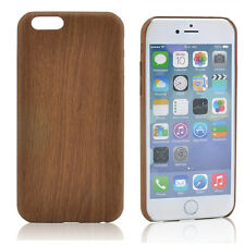 Mens Luxury Vintage TPU Wood Grain Case Cover Ultra-thin For iPhone 6/6s 4.7""