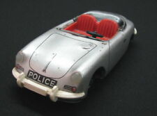 VINTAGE PORSCHE 356 TIPPCO TIPP&CO FRICTION TOY CAR POLICE GERMANY 1970'S SEE >>