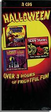 Scary Halloween Music and More - 3 New CD's of Halloween Stories and Fun Music!