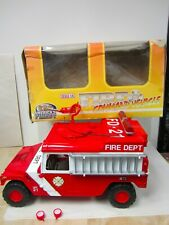 AMERICA'S FINEST 1:6 SCALE FIRE COMMAND VEHICLE 21ST CENTURY TOYS HUMVEE HUMMER