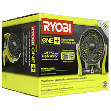 Ryobi One + Cordless Portable 18 Volt Hybrid Fan (P3320)