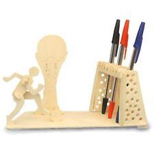 Giocatore di football Supporto Penna Woodcraft Construction Kit - 3D modello per bambini/adulti
