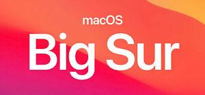 Mac OSX Big Sur 11 recovery, restore & repair on a USB flash drive