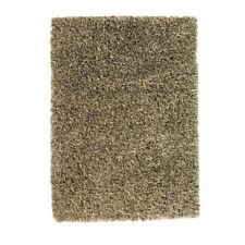 Think Rugs Amazon Hand-Woven Shaggy Beige Area Rug - 150x230cm  (B)