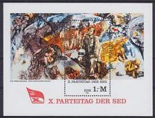 DDR Block 63 **, X. Parteitag der SED 1981, postfrisch, MNH