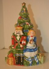 Fitz / Floyd Christmas - First Ladies Kennedy White House.Nutcracker / Tree