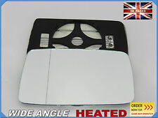 Seat IBIZA/CORDOBA 1993-1999 Wing Mirror Glass Aspheric HEATED Left Side