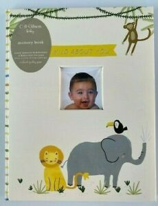 NEW Wild About You Baby Memory Book CR Gibson Baby book READ