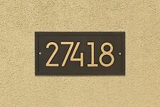Rectangle Modern Personalized Wall Plaque