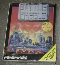 Battle Wheels Atari LYNX Game New in the Box(NOS) Battlewheels