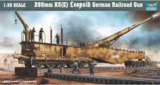 Trumpeter 1/35 280mm K5(E) Leopold Railroad Gun # 00207