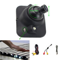 Adjustable Car Front Side Rear View Camera Light Sensitive IR LED Night Vision